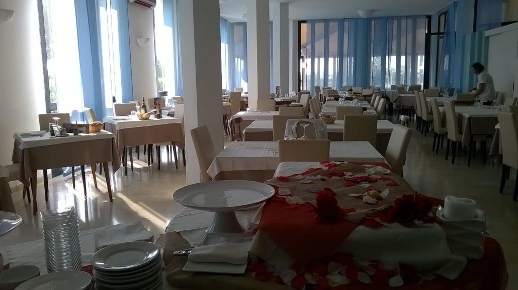 area da pranzo albergo jesolo